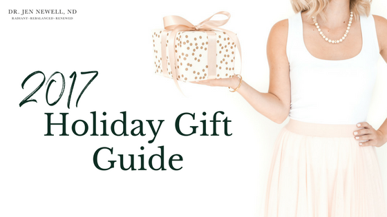 2017 Canadian-Made Healthy Holiday Gift Guide