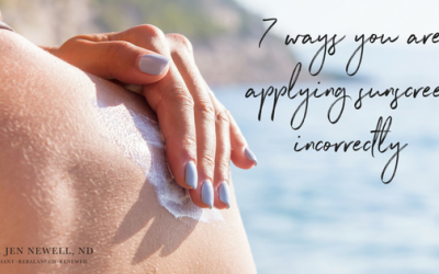 7 ways you are using sunscreen wrong