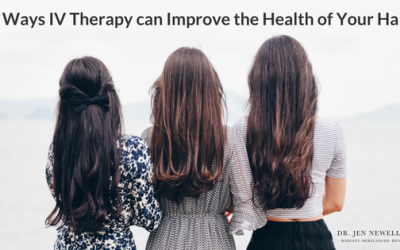 IV therapy and hair health