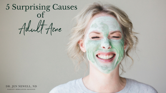 5 Surprising Causes of Adult Acne