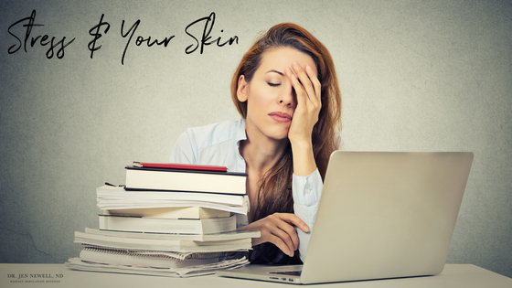 How does stress affect your skin?