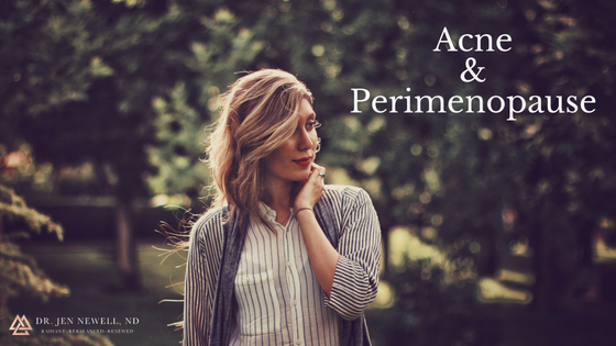 "Acne & Perimenopause – How to combat pimples during ""the change of life"""